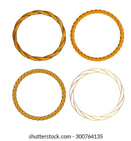 Golden  rope circle
