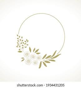 golden roses, , vector graphic design element