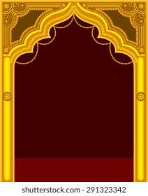 Golden Temple Door Frame