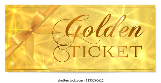 photo relating to Printable Golden Tickets named Golden Ticket Photographs, Inventory Photographs Vectors Shutterstock
