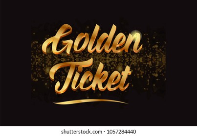 Golden Word Images, Stock Photos & Vectors | Shutterstock