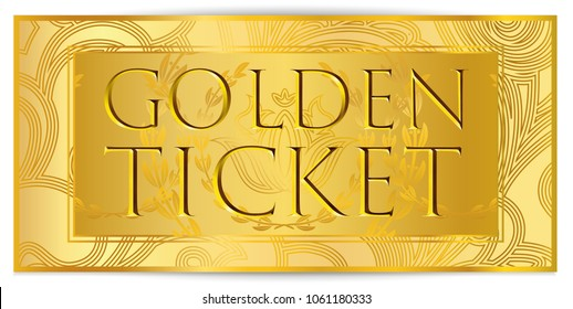 graphic about Printable Golden Tickets named Golden Ticket Vector Illustrations or photos, Inventory Images Vectors