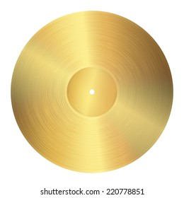 golden vinyl record