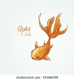 Gold Fish Painting Images Stock Photos Vectors