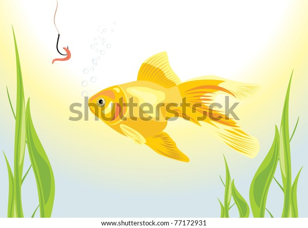 goldfish-worm-on-fish-hook-600w-77172931