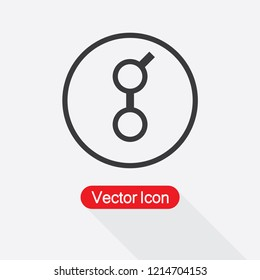 Golem Cryptocurrency Icon Vector Illustration Eps10