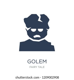 Golem icon. Trendy flat vector Golem icon on white background from Fairy Tale collection, vector illustration can be use for web and mobile, eps10