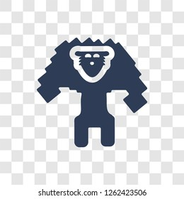 Golem icon. Trendy Golem logo concept on transparent background from Fairy Tale collection