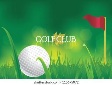 Golf Course Clip Art Images Stock Photos Vectors Shutterstock