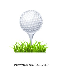 Golf background with grass