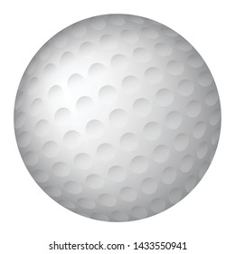 Golf Ball Golfball Vector Graphic Illustration Icon