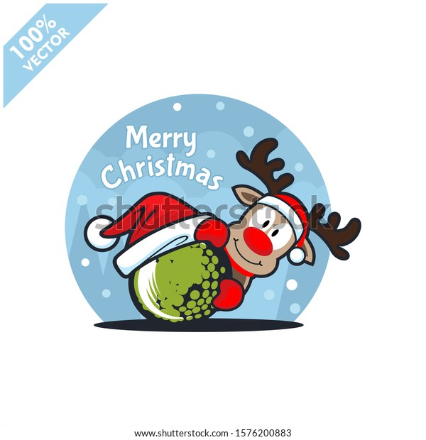 Happy Santa Claus Creative Christmas Card Stock Illustration - Download  Image Now - iStock