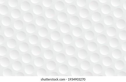 Golf ball texture background. Vector illustration. Concept business