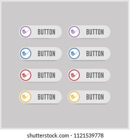 Golf Bat Icon - Free vector icon