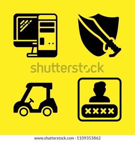 golf cart computer password
