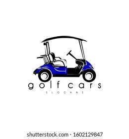 golf cart logo concept vector art