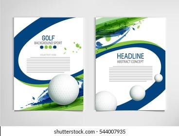 Golf Banner Images Stock Photos Vectors Shutterstock
