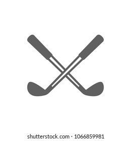 Golf club icon in trendy flat style isolated on white background. Symbol for your web site design, logo, app, UI. Vector illustration, EPS