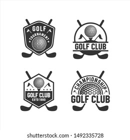 Golf Club Tournament Logos Collections
