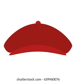 golf hat isolated icon