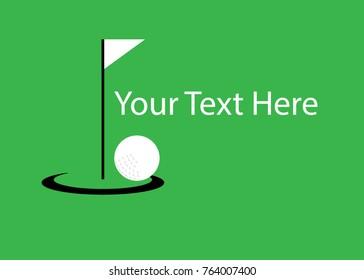 golf illustration design