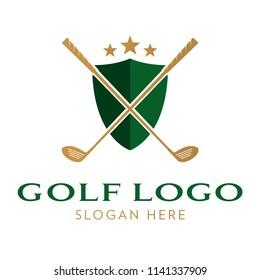 Golf Logo Icon Template