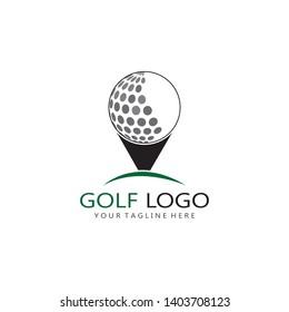 Golf Logo Template vector illustration icon design - Vector