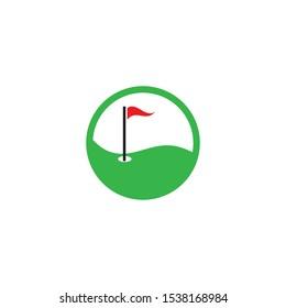 Golf Logo Template vector illustration design