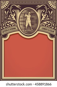 Golf player card