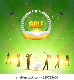 Golf Shiny Background