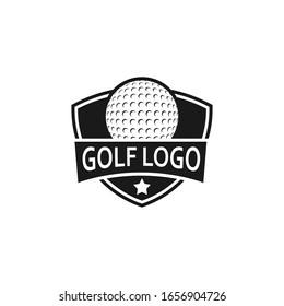 Golf Sport Logo Design Template, vector Illustration