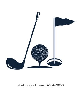 golf vector icon