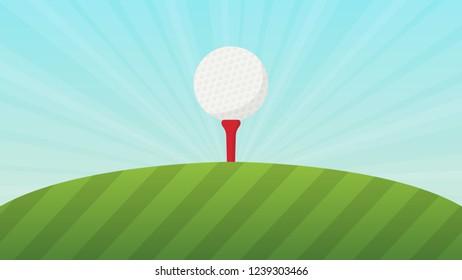 Vectores Imágenes Y Arte Vectorial De Stock Sobre Golf Shot