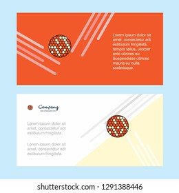 Golfball  abstract corporate business banner template, horizontal advertising business banner.