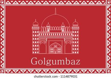 Golgumbaz, Karnataka, Warli Printing