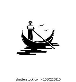gondola logo vector