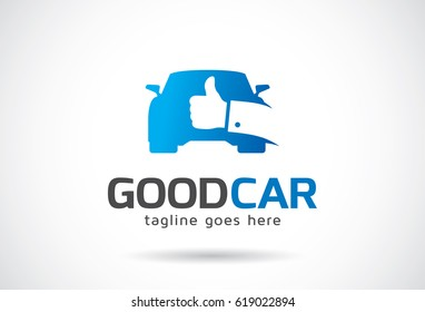Good Car Logo Template Design Vector, Emblem, Design Concept, Creative Symbol, Icon