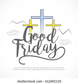 Good Friday Background.