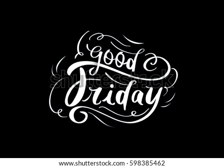 Good friday greetings on chalk board stock vector royalty free good friday greetings on chalk board m4hsunfo