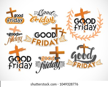 Good Friday Illustration Background.