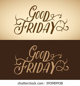 Good Friday, Vector Illustration