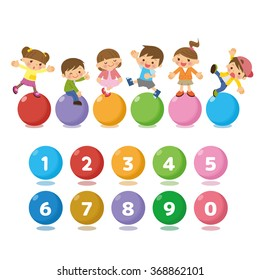 Good friend children and number.