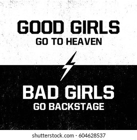 Images, photos et images vectorielles de stock de Bad Girl