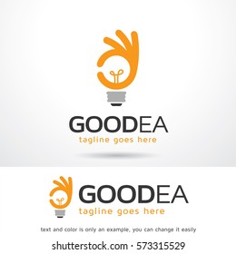 Good Idea Logo Template Design Vector