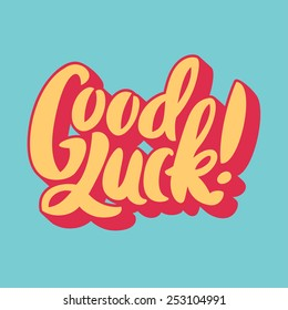 Good luck. Hand lettering.