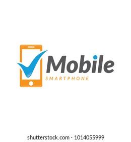 good mobile phone logo icon vector template
