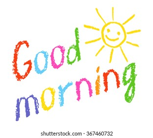 Good Morning Children Images, Stock Photos & Vectors | Shutterstock