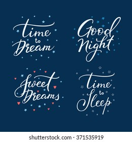 Night Time Quotes Images, Stock Photos & Vectors | Shutterstock