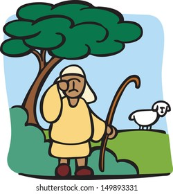 I am the good shepherd. The good shepherd lays down his life for the sheep.