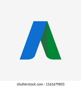Google adwords icon. Vector. EPS 10